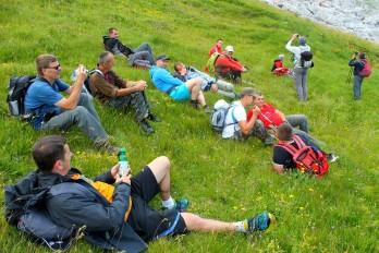Novica Koroman - Odmor i uživanje poslije uspona na vrh Treskavice